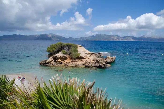Strand S'Illot Halbinsel Victoria Alcudia