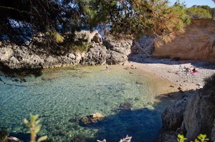 Der Strand an der Punta Negra
