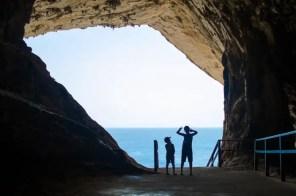 Die Höhlen von Arta: Blick aufs Meer