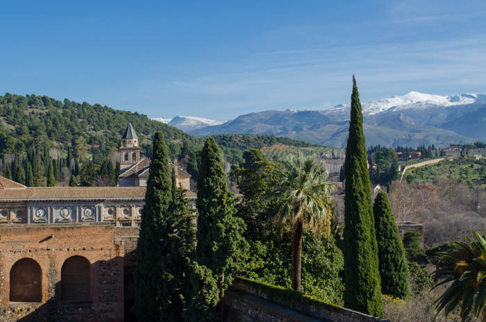 Alhambra mit Kindern