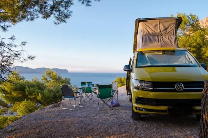 Camper Verleih: Mallorca im Bulli entdecken