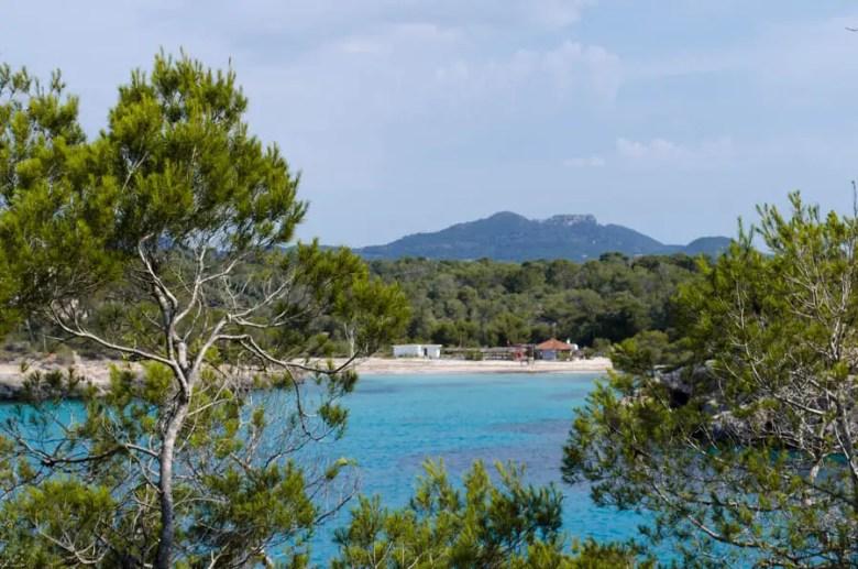 Strand Cala Mondrago Font de n'Alis