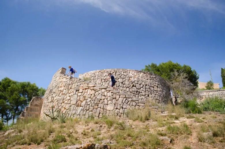 Talayots der Forners Balear: Turm bei Alqueria Blanca