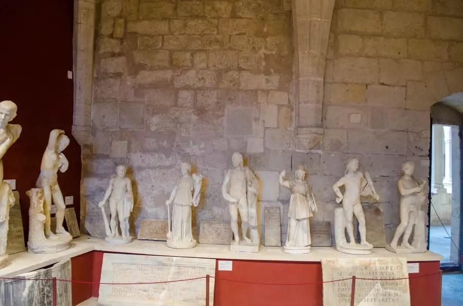 Skulpturensammlung von Depuig in der Burg Bellver