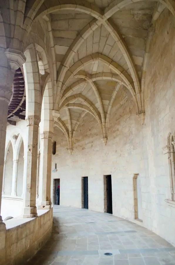 Die Burg Castell Bellver in Palma de Mallorca