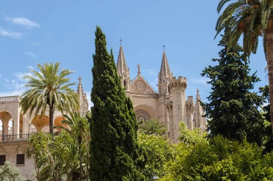 Blick auf die Kathedrale von Palma