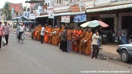 Monks at Kampong Chang
