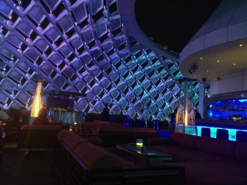 Skyline Lounge at Yas Viceroy hotel.