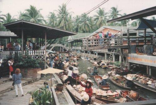 Floating Market at Damnoen Saduak - outside Bangkok
