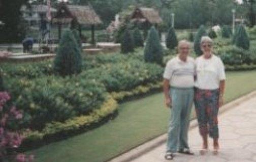 My parents at the 'Rose Garden' @ Tolfalas.com