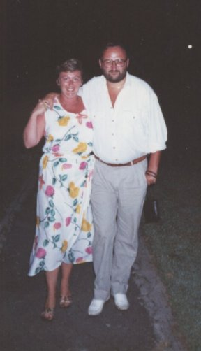 Val and I on Phuket - October 1990 - from tolfalas.com