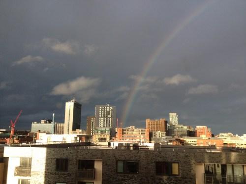 Rainbow from the HIX @ Tolfalas.com