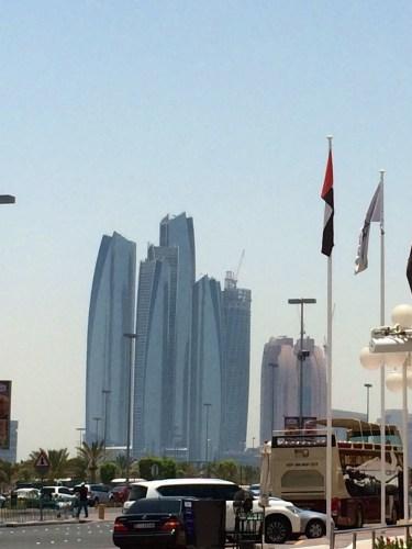 Jumeirah Etihad Towers - from the Marina Mall - at Tolfalas.com