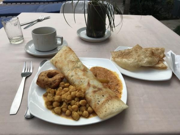 Masala Dosa breakfast, who needs bacon?