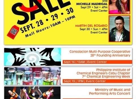 sm city consolacion mallwide store sale