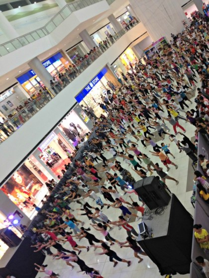 Zumba Fitness Free Dance instructor SM City Consolacion Cebu