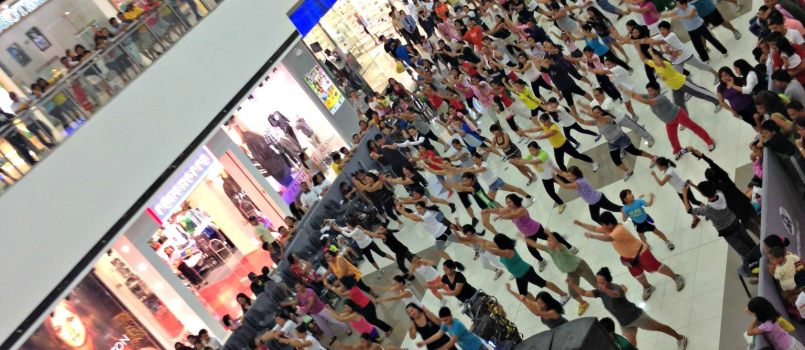 Zumba Free Dance instructor SM City Consolacion Cebu