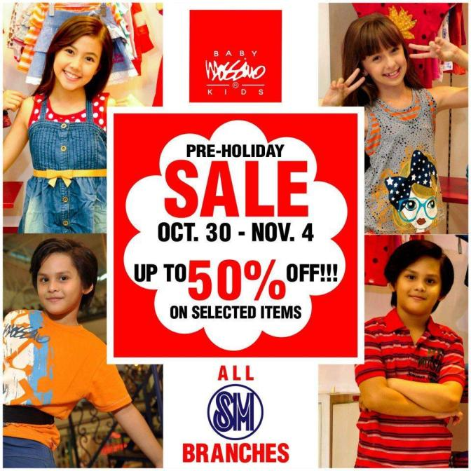 halloween 2012 holiday sale all SM Mall store