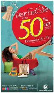 SM City Cebu Year End Sale