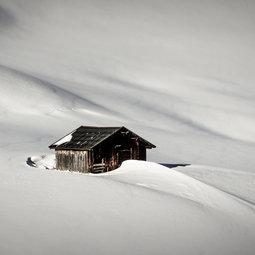 small alpine shelter
