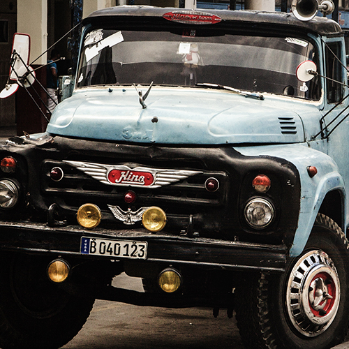 old hino truck