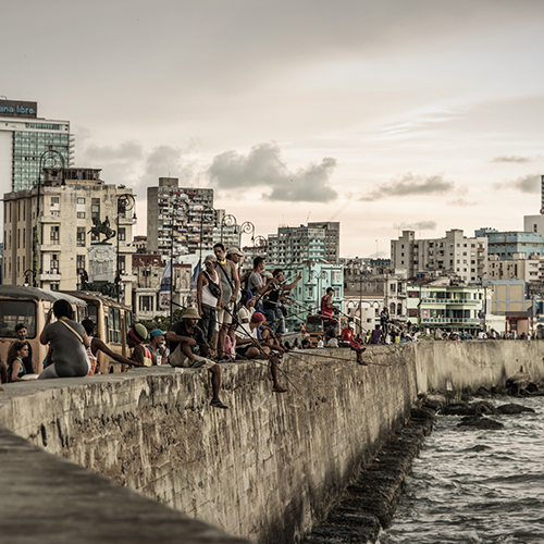 fishers at malecon