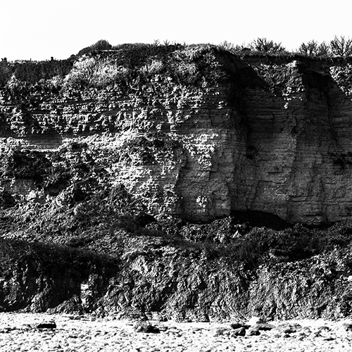 The Omaha Beach Cliff Panorama