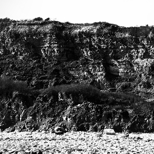 The Omaha Beach Cliff - Detail 1