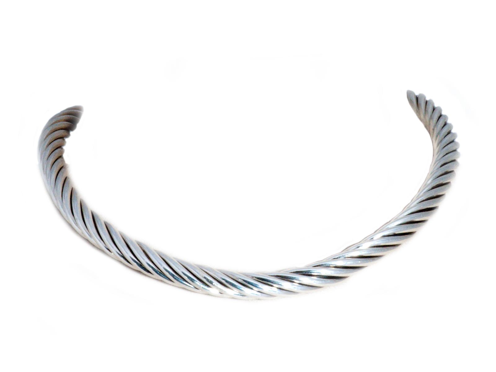 Silver Collar Necklace By Navajo Artist Artie Yellowhorse