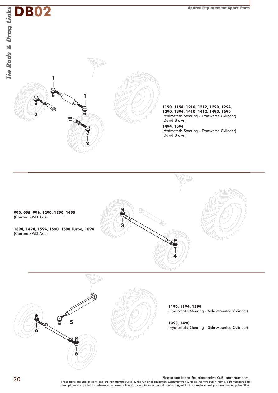 David Brown Spare Parts Cardbk Co Wiring-Diagram Dixon David Brown Tractor  1210 Wiring Diagram