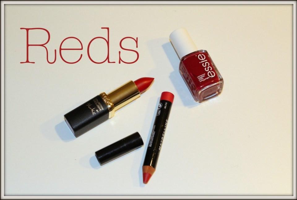 Røde læber og negle