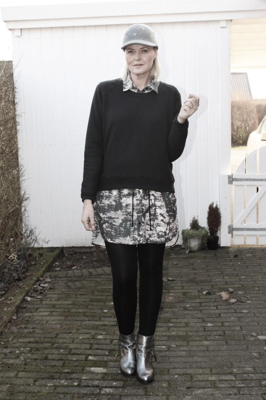 Black Swan Felisha Flavia Acne outfit