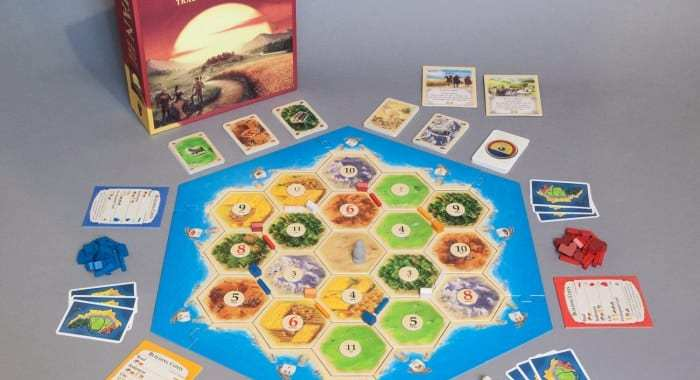 Settlers of Catan – Board Game of the Year 1995