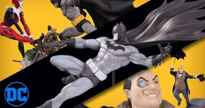 3 New DC Collectibles Statues to be ordered in the August PREVIEWS