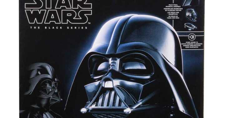 Join the Dark Side with the Star Wars Black Series Electronic Darth Vader Helmet
