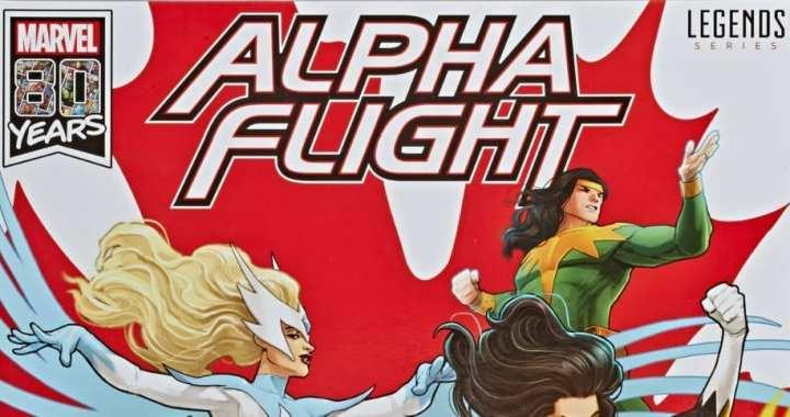 HASBRO to Issue MARVEL LEGENDS ALPHA FLIGHT  6-Pack