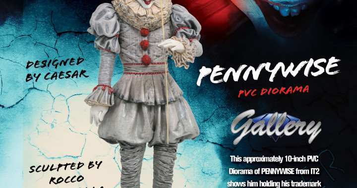 Pennywise PVC Figure To Float Into MaltaComics