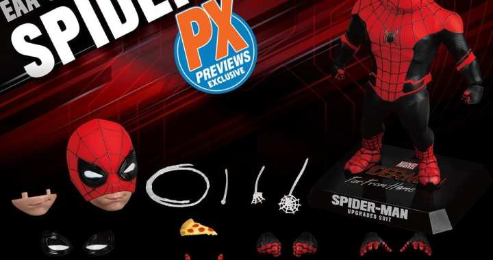 PREVIEWS Exclusive Spider-Man: Far from Home Egg Attack Action Figure Swings into MaltaComics
