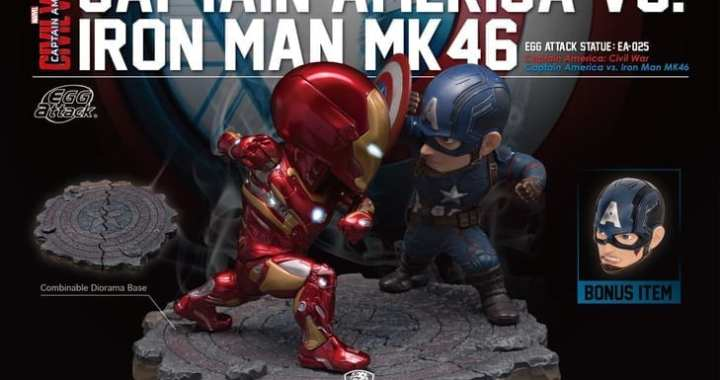 Pick A Side with Beast Kingdom's Civil War Statue Set
