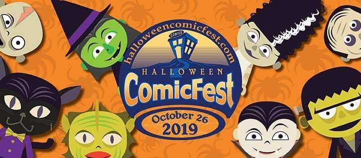 Halloween Comic Fest This Saturday 26th October 2019!
