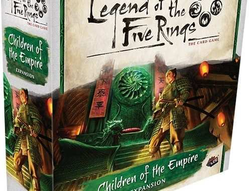 A Look At Legend of the Five Rings: Children of the Empire