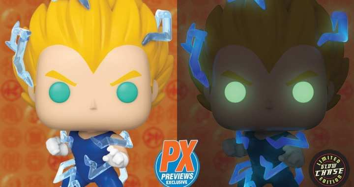 Super Saiyan 2 Vegeta Powers up for PREVIEWS Exclusive Funko Pop Release