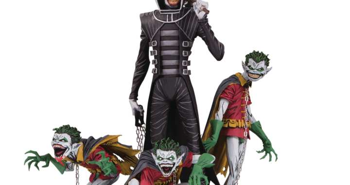 "Dark Knight and Robin Minions Round Out DC Collectibles' ""Dark Knights: Metal"" Statue Line"