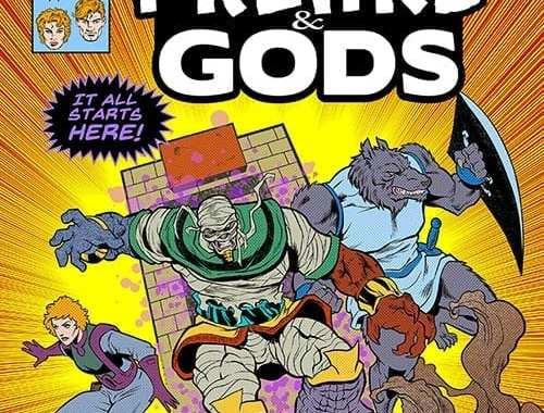 215 Ink Opens Universe of Freaks & Gods