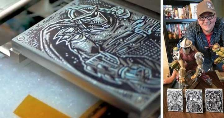 Kevin Eastman Artwork To Reside on The International Space Station