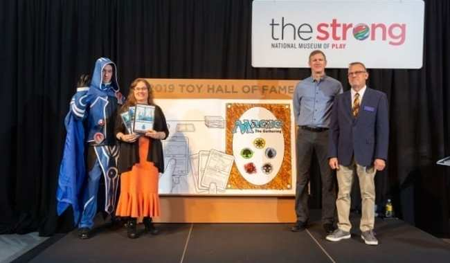 'MAGIC: THE GATHERING' INDUCTED INTO NATIONAL TOY HALL OF FAME