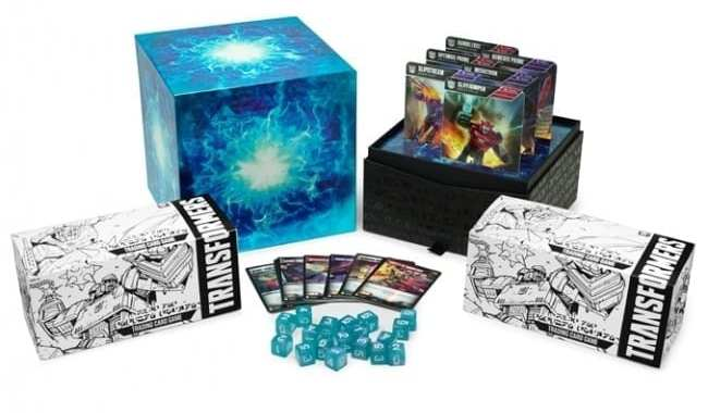 WIZARDS OF THE COAST UNVEILS 'TRANSFORMERS TCG: WAVE ONE ENERGON EDITION'