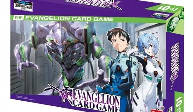 BANDAI REVEALS 'EVANGELION CARD GAME'