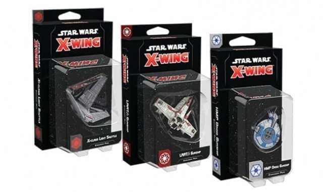 FANTASY FLIGHT GAMES TO RELEASE THREE 'X-WING' EXPANSIONS