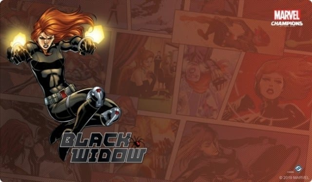 BLACK WIDOW PREPARES FOR COVERT OPS IN 'MARVEL CHAMPIONS: THE CARD GAME'